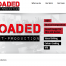 loaded Post Production Website