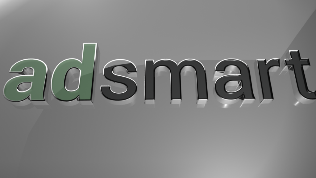 Admsart 3D logo Chrome